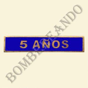 Barra Azul 5 Años