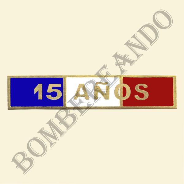 Barra Tricolor 15 Años
