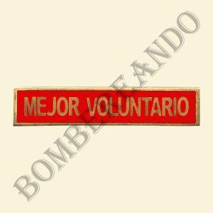 Barra Mejor Voluntario