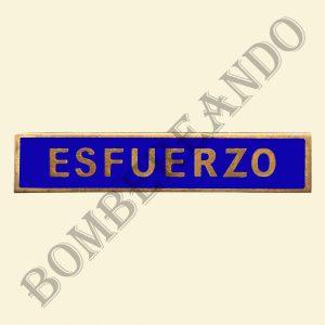Barra Esfuerzo